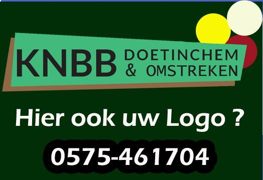 Sponsor van KNBB Doetinchem